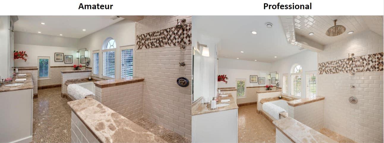 Amateur vs. Professional Real Estate Photos